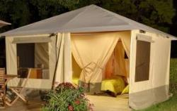 Tent Mayotte - Front Beach