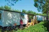 Rental - Le Grand Large (2 Adults + 3 Kids) + Tv - AIROTEL CAMPING BON PORT