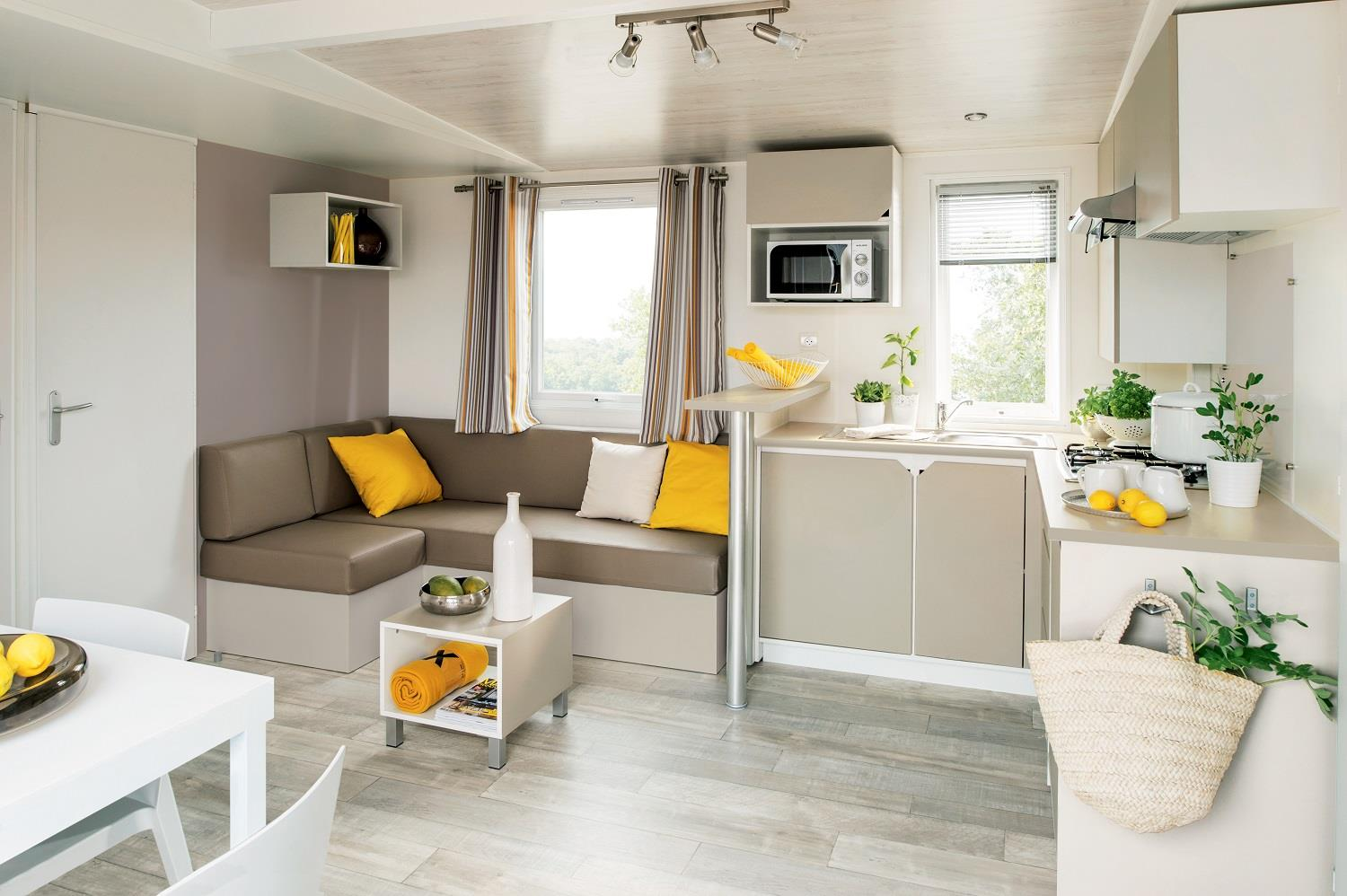 Locatifs - Le Grand Charme (6 Pers) Tv + Climatise / Animaux Interdits - Camping Le Bon Port