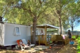 Rental - LE LIFE PMR 4 PERS CLIMATISE + TV - Animals are not admitted - AIROTEL CAMPING BON PORT