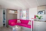 Rental - LE TRIBU (4 Adults + 4 Kids) 4 Rooms 8 people TV + AIR CO / Animals are not addmitted - AIROTEL CAMPING BON PORT