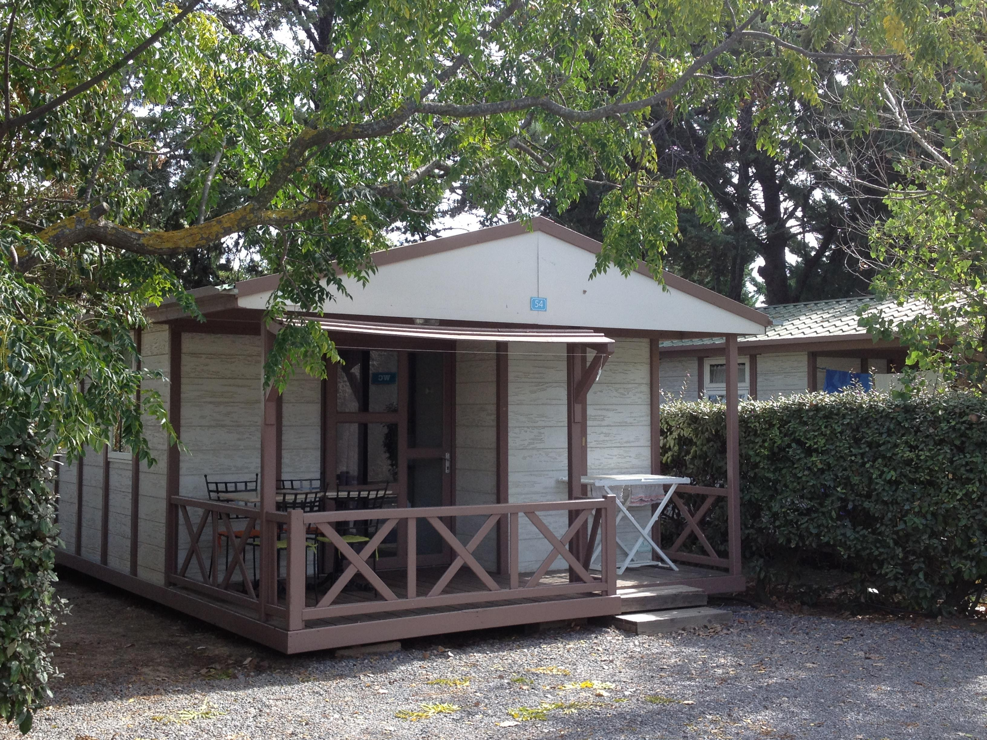 Chalet 21m²- 2 chambres