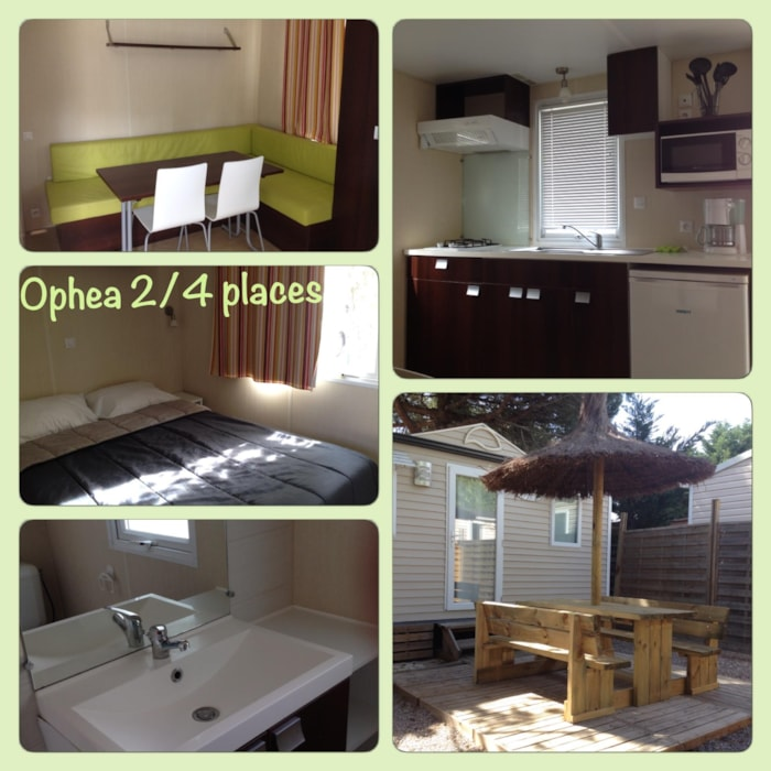 Mobil Home 21M² Ophea 1 Chambre  + Canapé Convertible