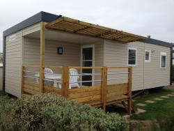 Mobilhome 33M² Rapidhome Terrasse Vue Mer