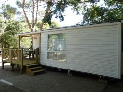 Mobilhome Roussillon grand confort climatisé + TV