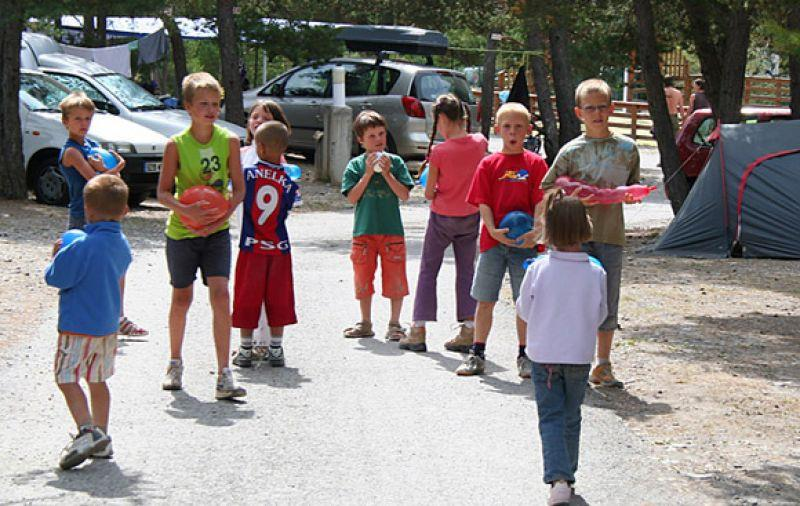 Entertainment organised Camping Rioclar - Méolans-Revel