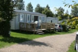 Rental - Mobile Home 3 Bedrooms - 30,50 M2 - Camping Airotel L'Aiguille Creuse