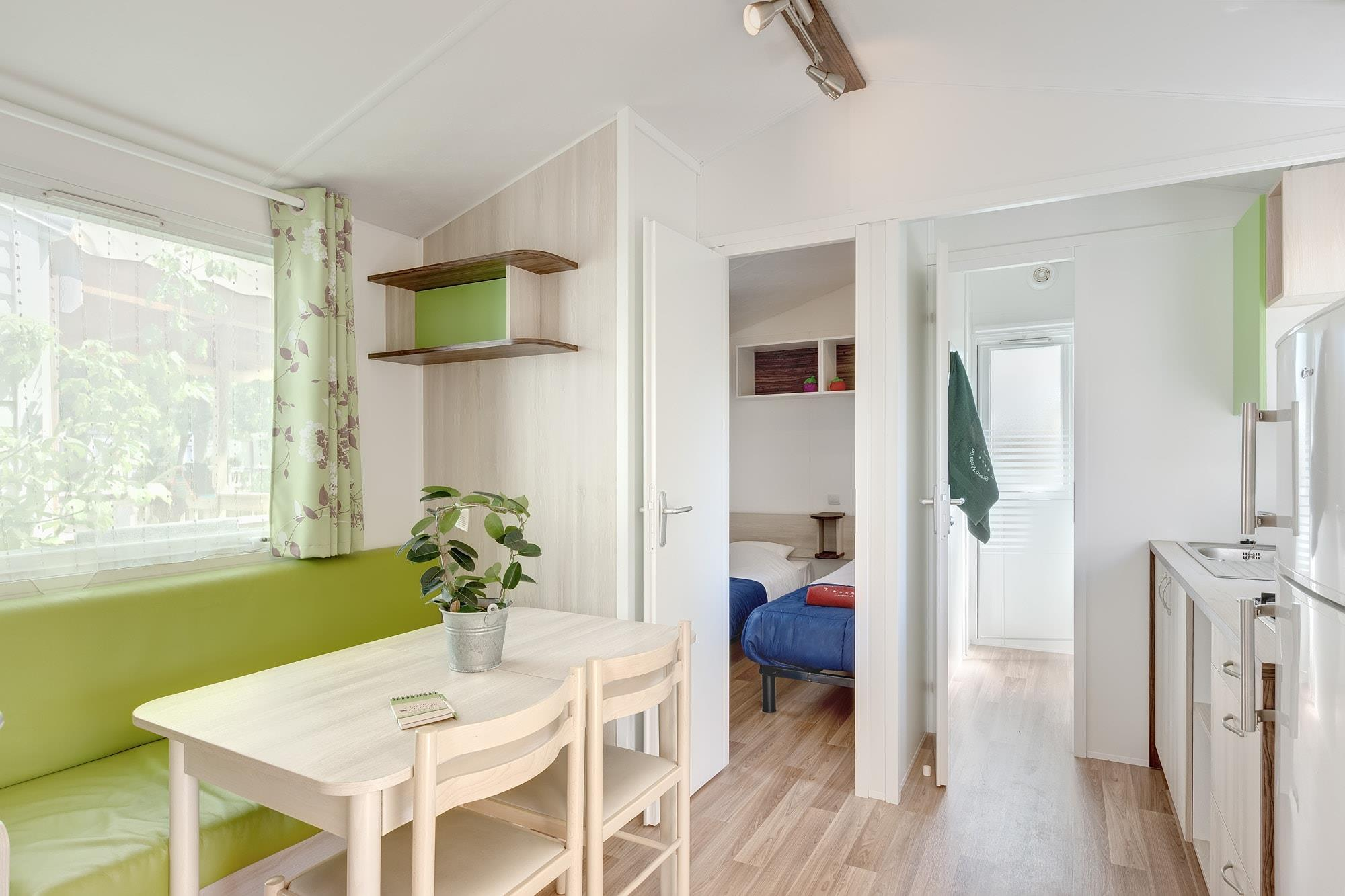 Mobil-home Confort 23m² (2 chambres) +7 ans