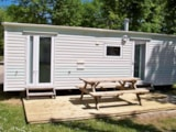 Rental - Mobile home TRADITION - Camping les PEUPLIERS
