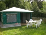 Rental - Canvas bungalow - Camping les PEUPLIERS