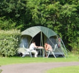Pitch - Pitch Premium : vehicle + tent or caravan + electricity - Camping les PEUPLIERS