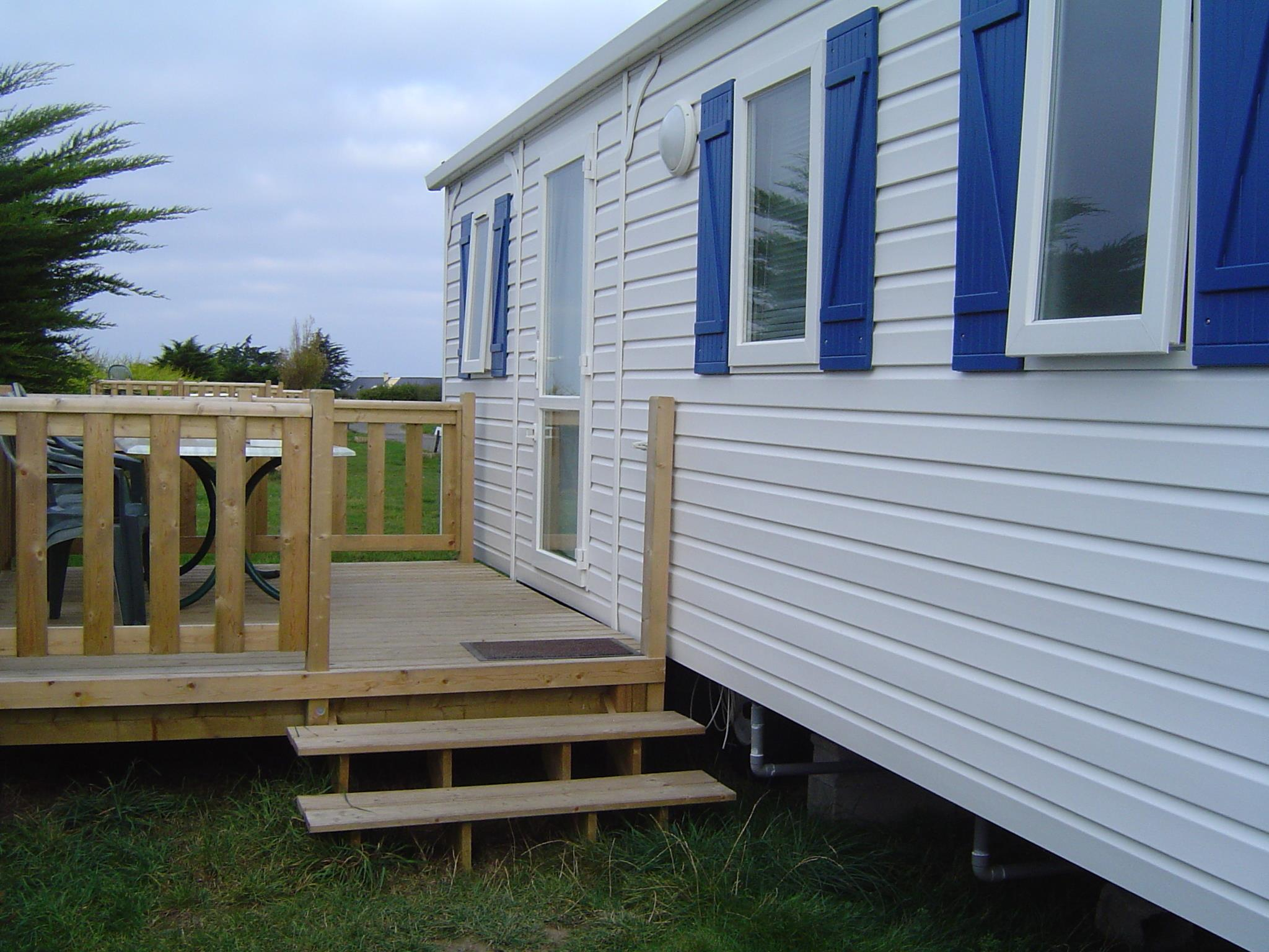 Location - Mobil-Home Titania 23M² - Camping Bellevue Mer
