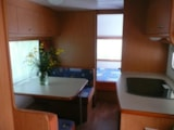 Rental - Caravan PLUMA - without toilet blocks 13m² 2007 - Camping Kerlaz