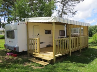 Caravan PLUMA - without toilet blocks 13m² 2007
