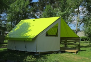 Tent Ecolodge SAHARI 17m² 2 bedrooms