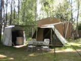 Rental - Tent Clic And Camp 2 bedrooms - Camping Kerlaz