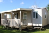 Rental - Mobile home BERMUDES 3 bedrooms 31m² 2015 - Camping Kerlaz