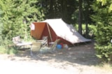 Pitch - Pitch 80 - 90 m² + electricity - Camping Fontisson