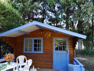 Wooden Chalet (Without Bathroom)
