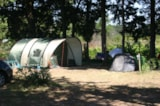 Pitch - Pitch + 100 m² + electricity - Camping Fontisson