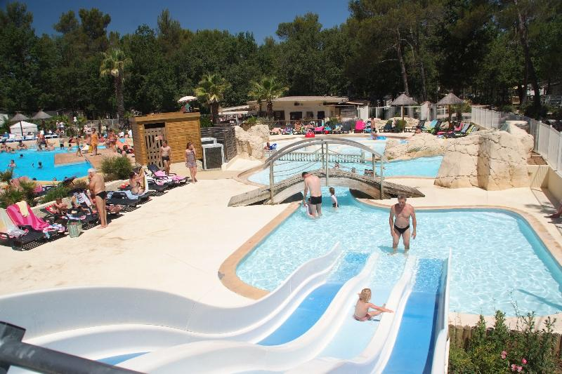 Establishment Camping **** Domaine de la Sainte Baume - Nans les Pins