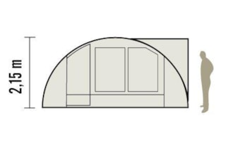 Comfort Tent Equipped 36M ²