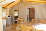 Rental - Ecolodge Sahari 30M ² Covered Terrace - Camping du Pont de Braye