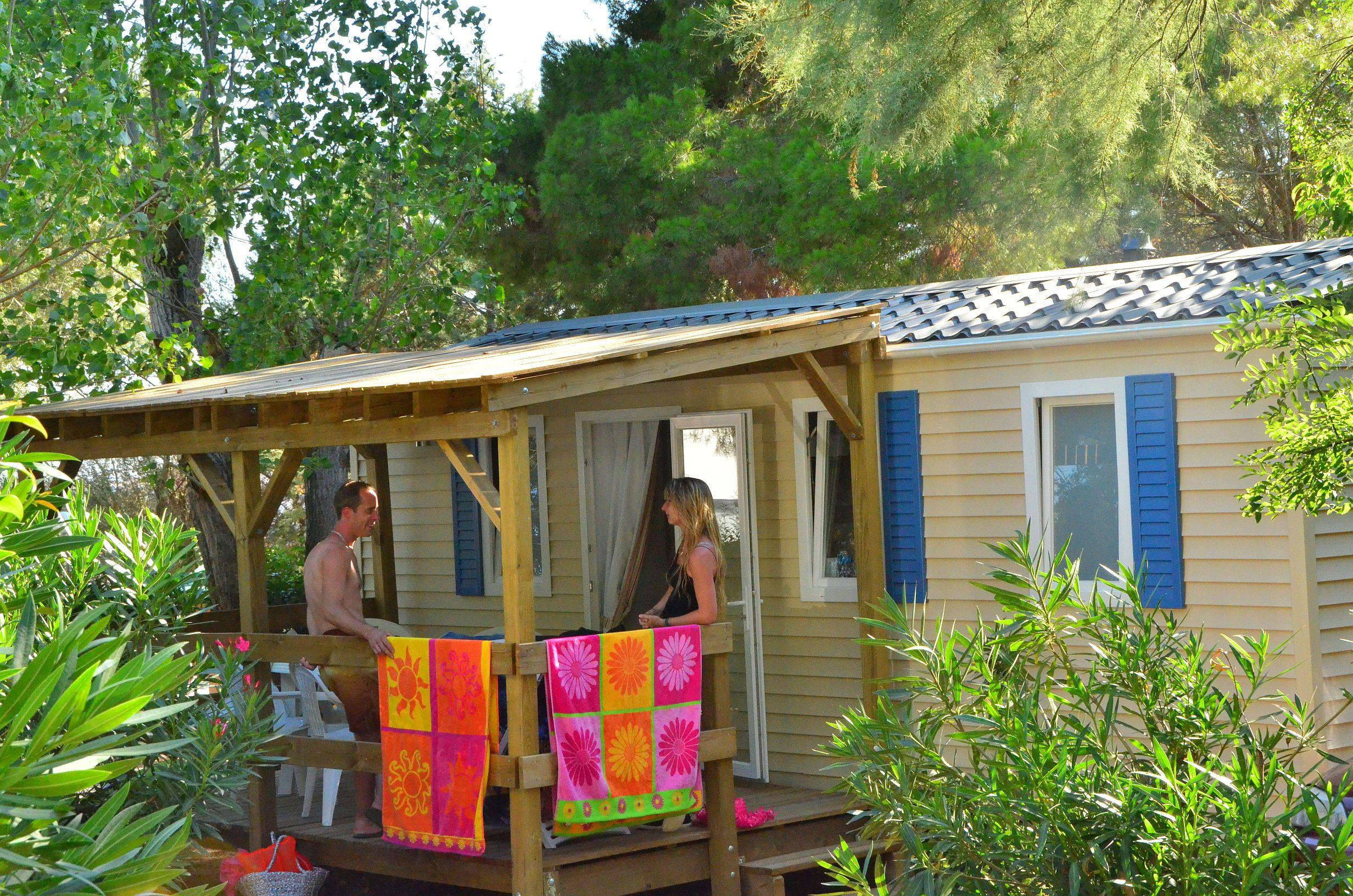 Location - Mobil Home - Camping Le Mas du Padre