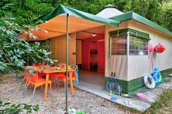 Furnished Kiwi Tent