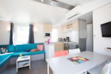 Rental - Mobil home SAFARI 3 bedrooms Air conditioning - Camping & Spa CAP SOLEIL