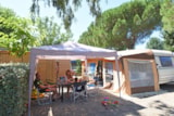 Pitch - Pitch Individual toilet blocks private - Camping & Spa CAP SOLEIL