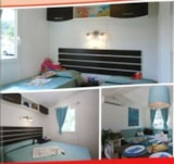 Rental - Mobile home PREMIUM 35.2m² (2 bedrooms) sheltered terrace - Flower Camping Le Pont du Tarn