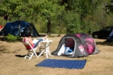 Pitch - Nature Package (1 Tent, Caravan Or Motorhome / 1 Car) - Flower Camping Le Pont du Tarn