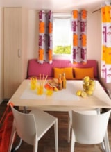Rental - Mobile home CONFORT 16 m² (1 bedroom) sheltered terrace - Flower Camping Le Pont du Tarn