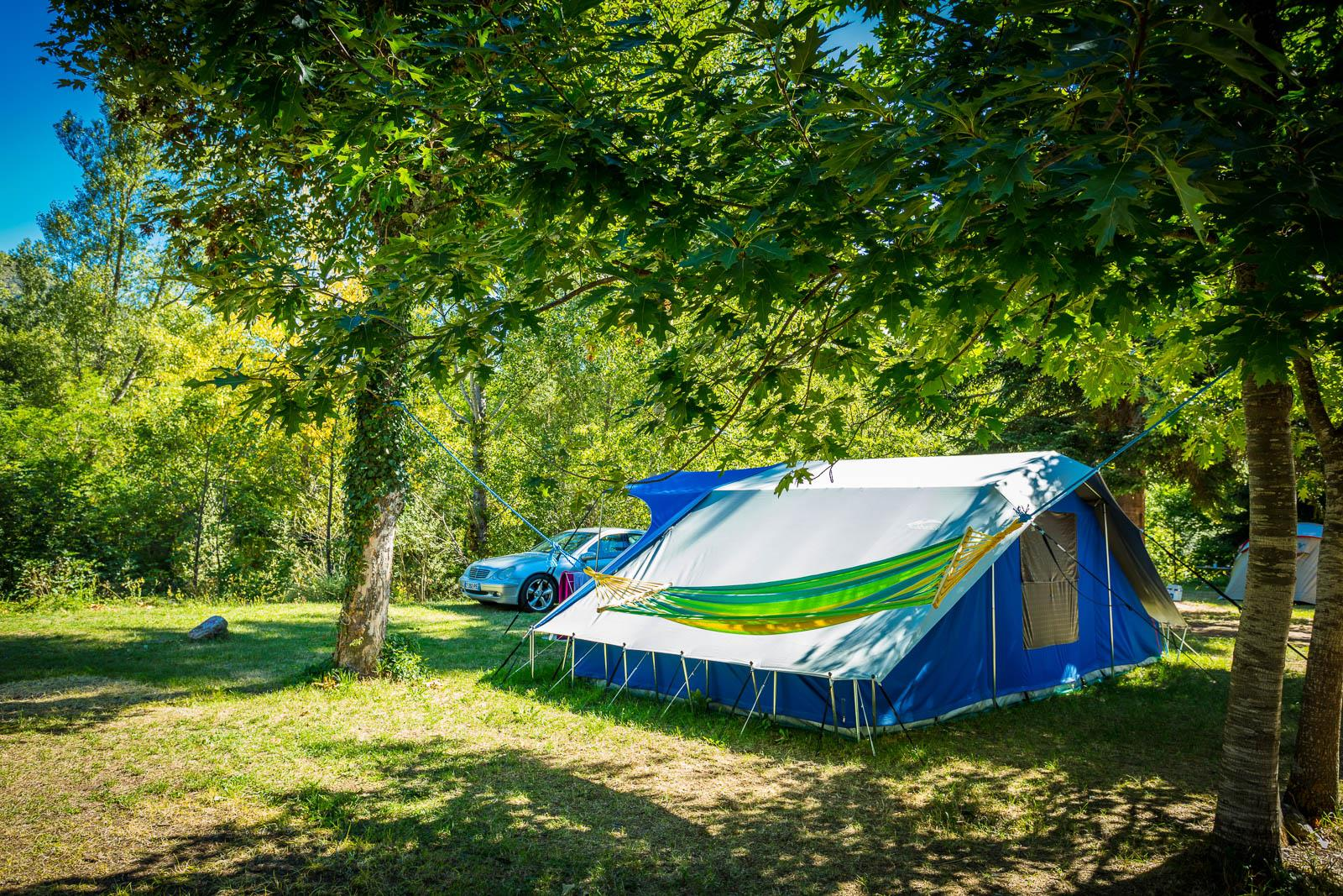 Emplacement - Forfait Ready To Camp - Camping Le Pont du Tarn