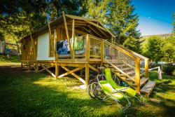 Cabane Lodge Sweetflower PREMIUM Palafitta 32 m² (con sanitari)
