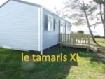 Rental - Mobile-home 3 bedrooms Super Titania / Tamarys XL terrace Seaview - Camping de la Plage de Trez Rouz