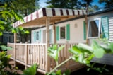 Rental - Mobile-home 3 bedrooms  MAGDALENA CONFORT+ 29m²  + Half-covered terrace - Camping Les Cyprès