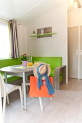 Rental - Mobile-home 2 bedrooms  LUDISIA  CONFORT+ (2012) 24 m²  + Half-covered terrace - Camping Les Cyprès