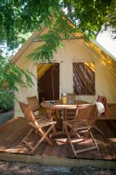 tent  2 kamers AMAZONE CONFORT (2014) 20m²
