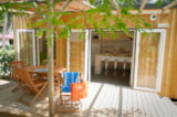 Rental - Mobile-home 2 bedrooms CATLEYA, PREMIUM 30m² + Half-covered terrace - Camping Les Cyprès