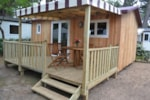 Rental - Mobile-home 1 bedrooms GLORIA Comfort + (2014) 24m² + sheltered terrace - Flower Camping Les Cyprès