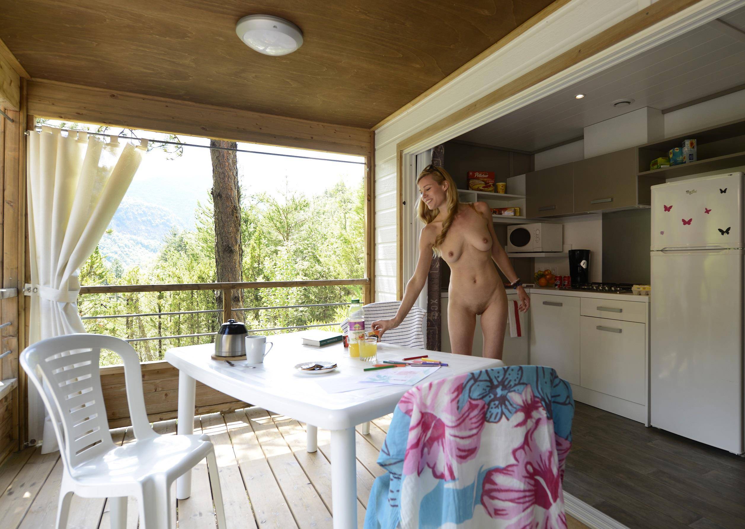 Location - Chalet Vip Papillon - Camping Club Origan Domaine Naturiste