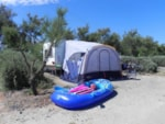Pitch - Camping pitch ** second row from the sea - caravan or camping-car + electricity - Les Méditerranées - Camping Beach Garden