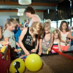 Entertainment organised Camping 't Strandheem - Opende
