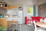 Rental - Chalet 4L with lounge sofa and a separate dining table - Vakantiepark Koningshof