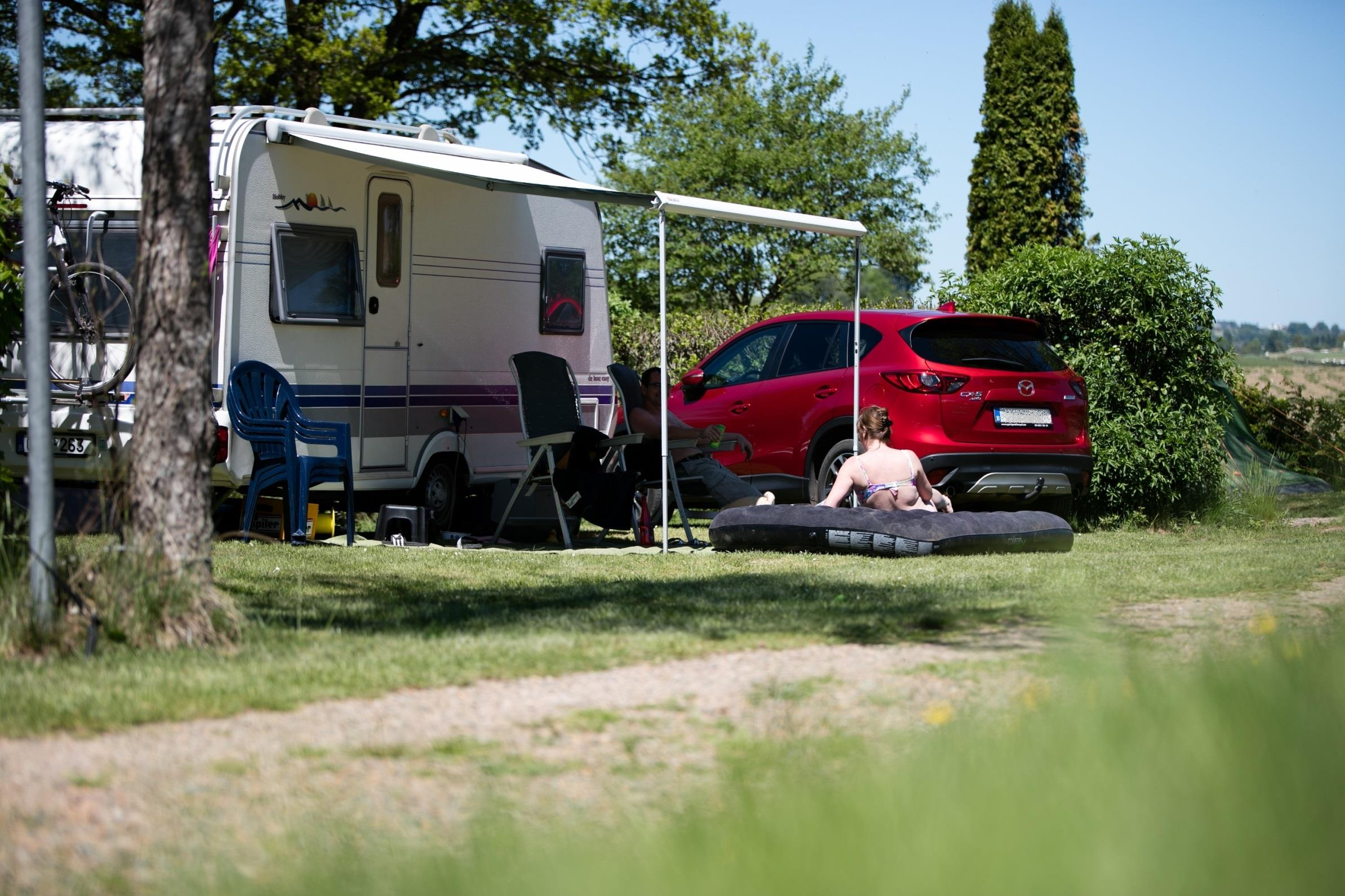 Camping plot 100 m² incl. 2 pers. and car