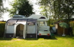 Piazzole - Camping plot 100 m² with storage shed, refrigerator and electricity - Camping Hohenbusch