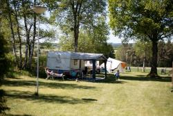 Camping plot 100 m² car-free camping field
