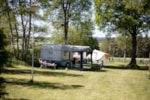 Pitch - Camping plot 100 m² car-free camping field - Camping Hohenbusch
